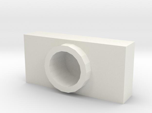 G2P-001e Weapon Pod in White Natural Versatile Plastic