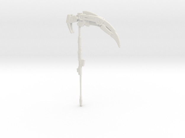 Crescent Rose from RWBY in White Natural Versatile Plastic
