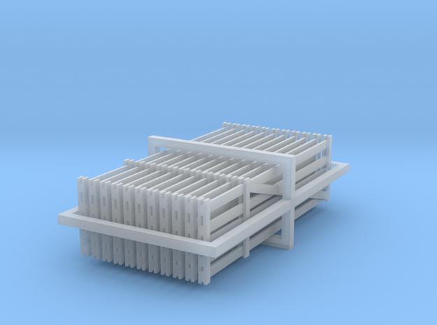 Farm Gates 1:120 in Smooth Fine Detail Plastic