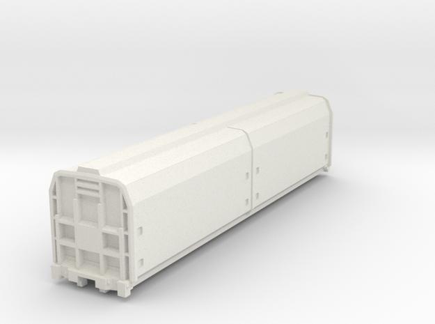 1:87 Scale NZR Zh Class in White Natural Versatile Plastic