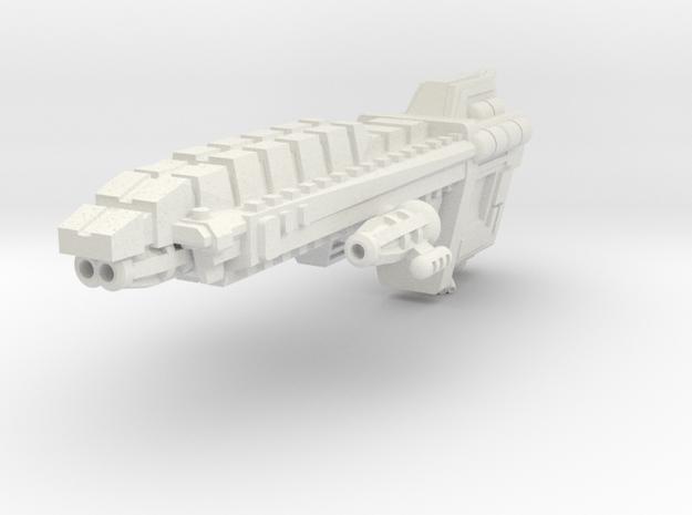 Javelin Patrol Cruiser in White Natural Versatile Plastic