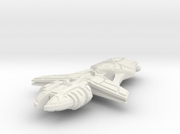 Tratha Light Cruiser in White Natural Versatile Plastic