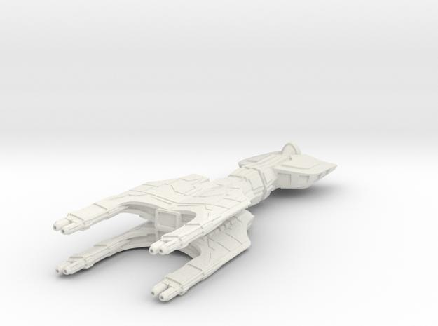 Inquisitor Light Cruiser in White Natural Versatile Plastic