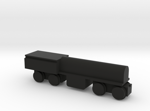 Solid Shay Dummy Core in Black Natural Versatile Plastic