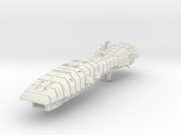 Leander Jump Cruiser in White Natural Versatile Plastic