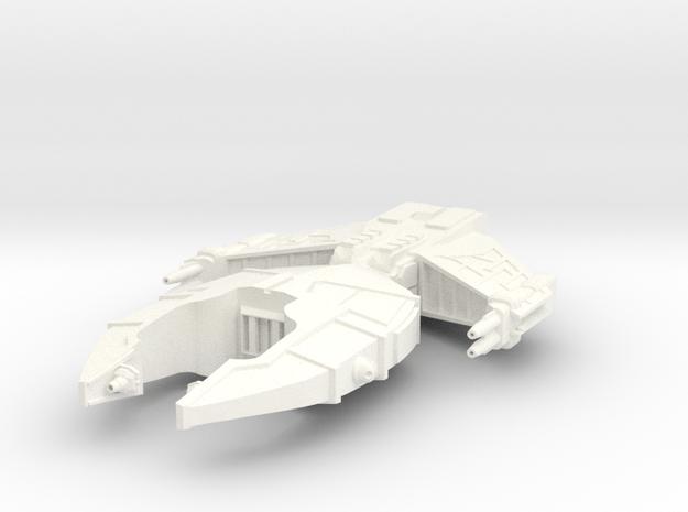 Ilustris Heavy Destroyer in White Processed Versatile Plastic