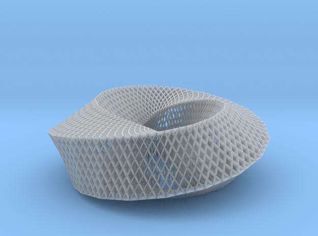 Fibonacci Mobius Loop in Smooth Fine Detail Plastic