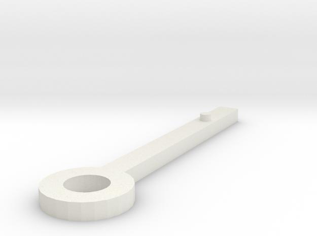 Clock hand sketchup selected in White Natural Versatile Plastic