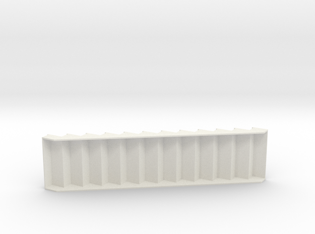1:24 Stair1 36w10t7.5r in White Natural Versatile Plastic