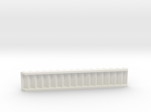 1:48 stair 36w10t7.5r in White Natural Versatile Plastic