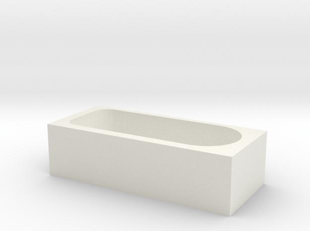 1:48 tub 1 in White Natural Versatile Plastic