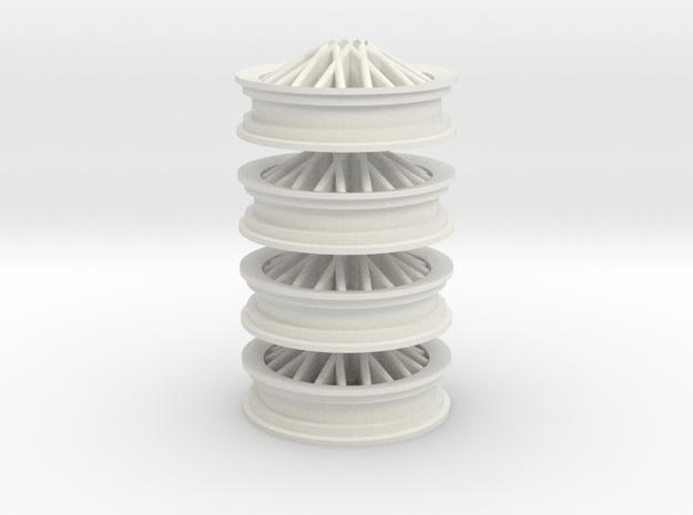 Fiat s76 dugu x4 in White Natural Versatile Plastic