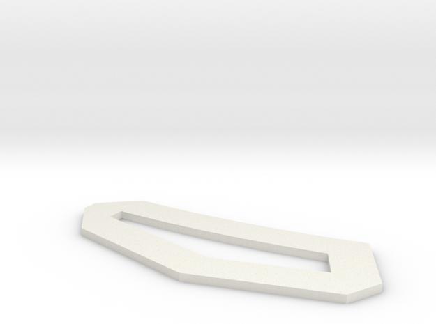 eyetrim2 in White Natural Versatile Plastic