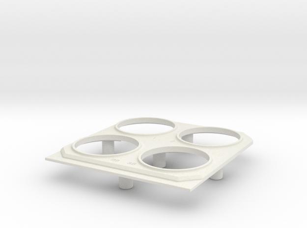 13006-22 in White Natural Versatile Plastic