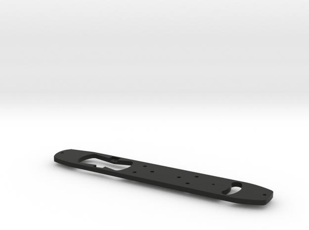HO Prewar PCC Frame-Accepts Bowser Drive in Black Natural Versatile Plastic