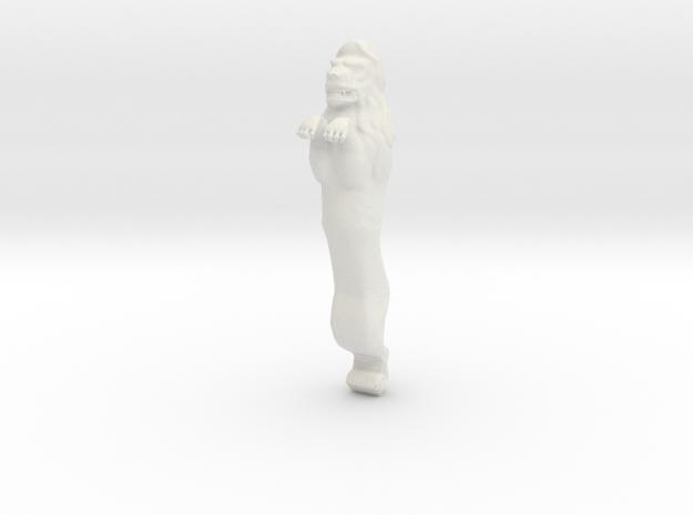 XVI c. lion figurehead_v2. in White Natural Versatile Plastic