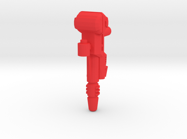 G2P-004b - BA Gun in Red Processed Versatile Plastic