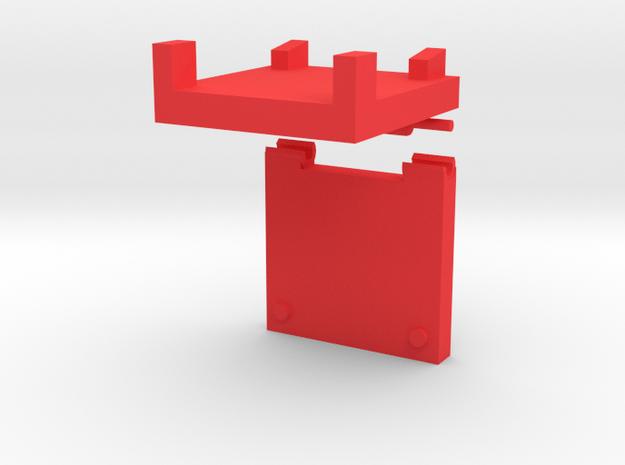 G2P-005b - Chromehead TechSpec Meter in Red Processed Versatile Plastic