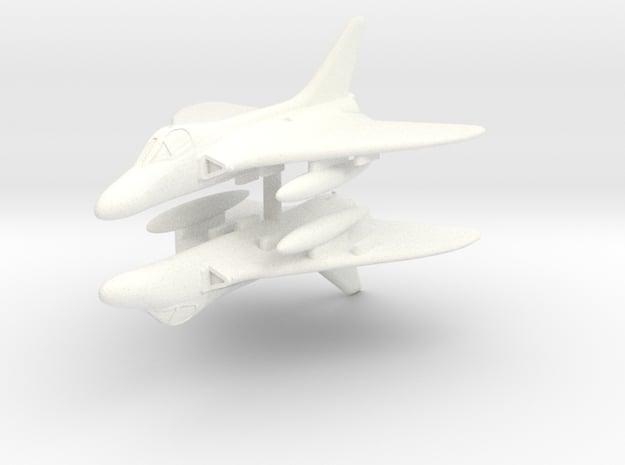 1/350 Douglas Skyray in White Processed Versatile Plastic