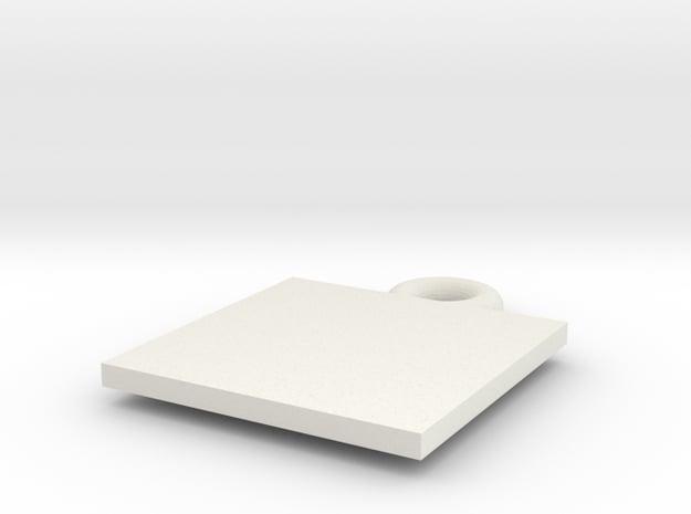 Chuck QR in White Natural Versatile Plastic