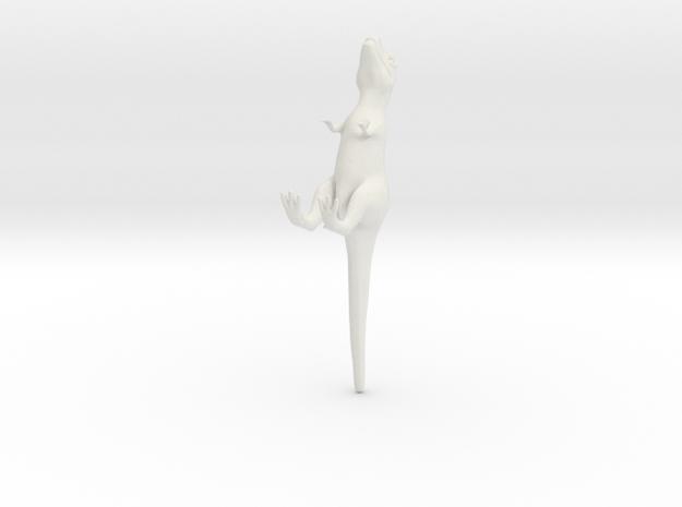 rex (fixed) in White Natural Versatile Plastic