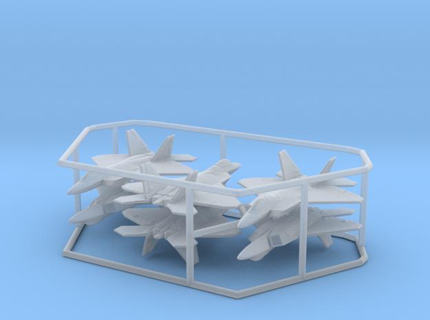 1/600 F-22A Raptor (FUD, x6) in Smooth Fine Detail Plastic