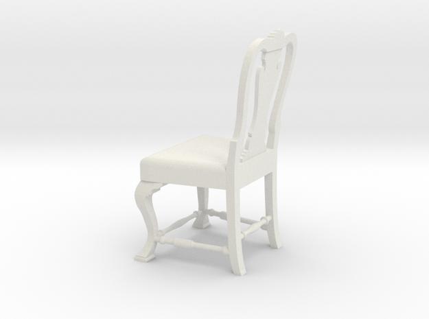 1:24 Port Chair (Not Full Size) in White Natural Versatile Plastic