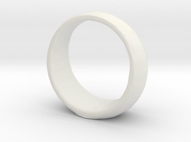 Animated GL ring in White Natural Versatile Plastic