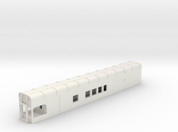 N Scale Rocky Mountaineer B Series 8'3 Platform in White Natural Versatile Plastic