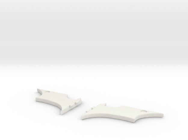 Batman Money Clip in White Natural Versatile Plastic