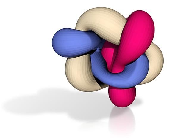 Knot 1 in Full Color Sandstone