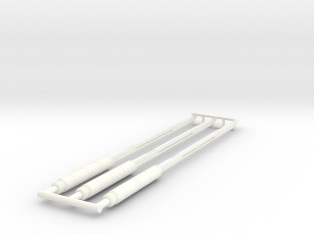 3-20-14 Deadpool Swords in White Processed Versatile Plastic