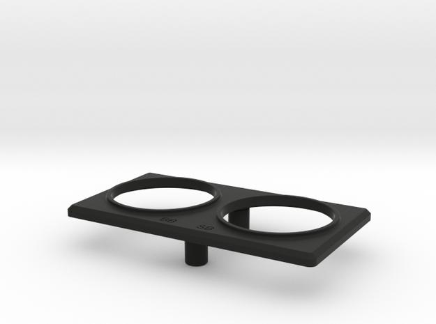 13006-40 in Black Natural Versatile Plastic
