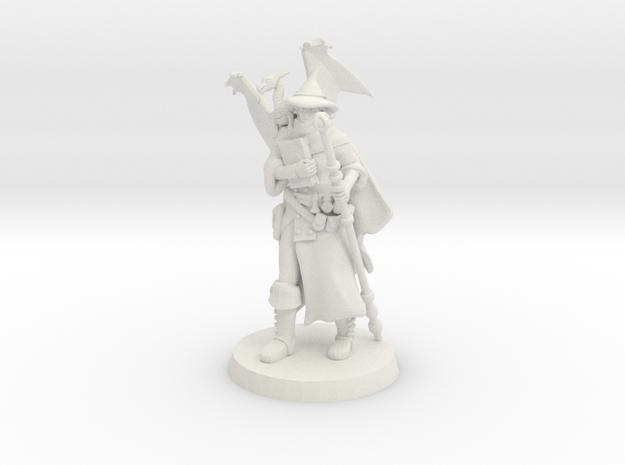 Wizard V3 in White Natural Versatile Plastic