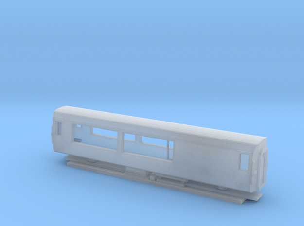 NZ120 - AK Styled Viewing Car in Smooth Fine Detail Plastic