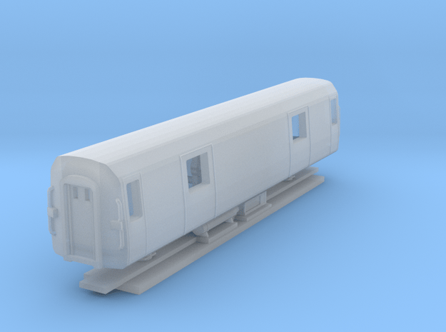 NZ120 - AK Styled Luggage Car in Smooth Fine Detail Plastic