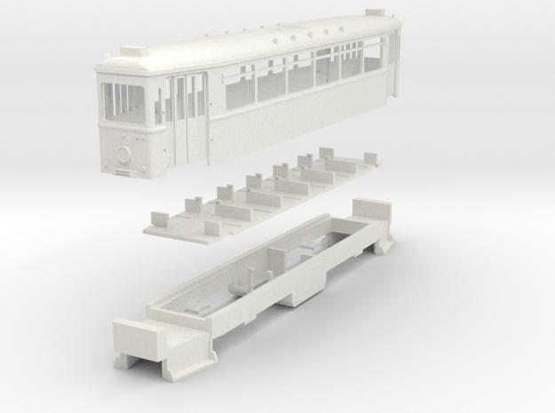 """EVAG TW 501 """"Langer Essener"""" in White Natural Versatile Plastic"""