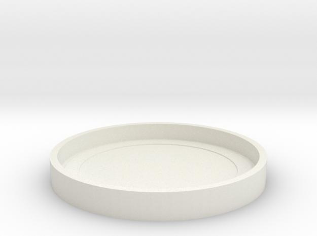 I3D KONSTRUKTOR LENS CAP-2 in White Natural Versatile Plastic