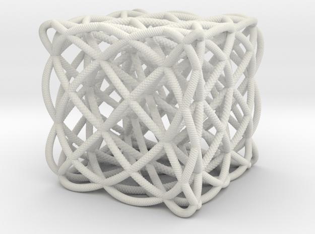 smaller box of ellipses in White Natural Versatile Plastic