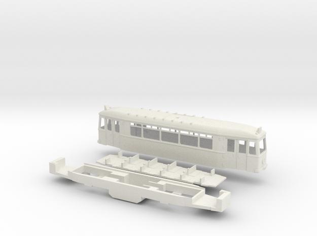 Essen TW 1901 ER Straßenbahn in White Natural Versatile Plastic