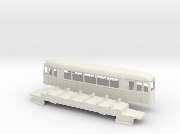 Essen Bw 2901 Straßenbahn in White Natural Versatile Plastic