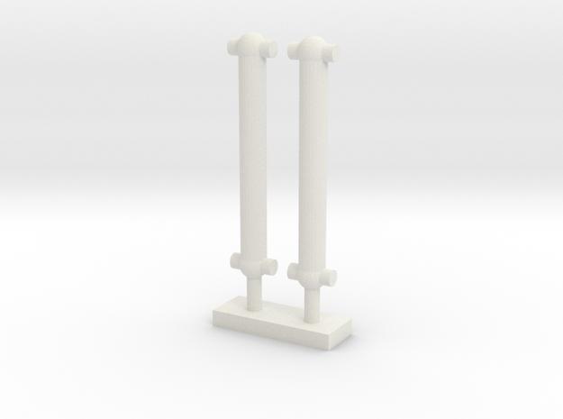 Kardanstange in White Natural Versatile Plastic