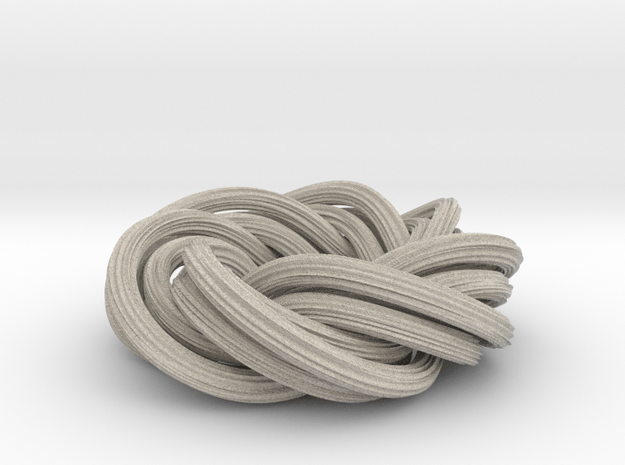 Baby You And Me, We've Got A Groovy Kind Of Knot in Natural Sandstone