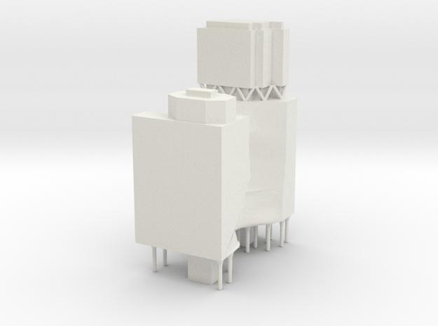 Carlton and United Brewery Redevelopment - Ashton  in White Natural Versatile Plastic