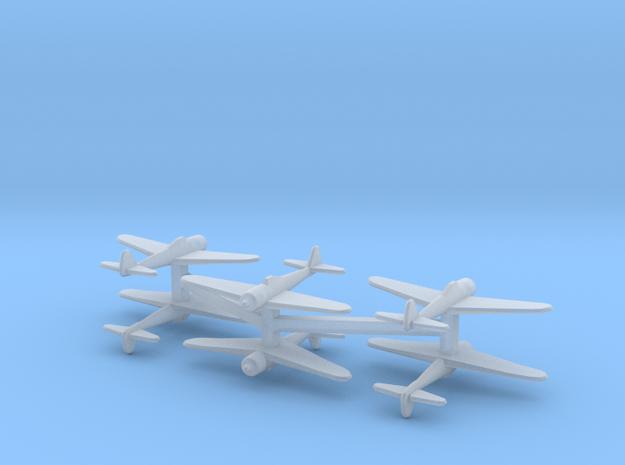 Ki-43 Oscar (Single) 1:700 x6 in Smooth Fine Detail Plastic