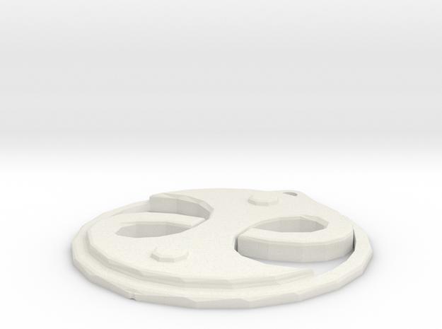 Guild Seal in White Natural Versatile Plastic