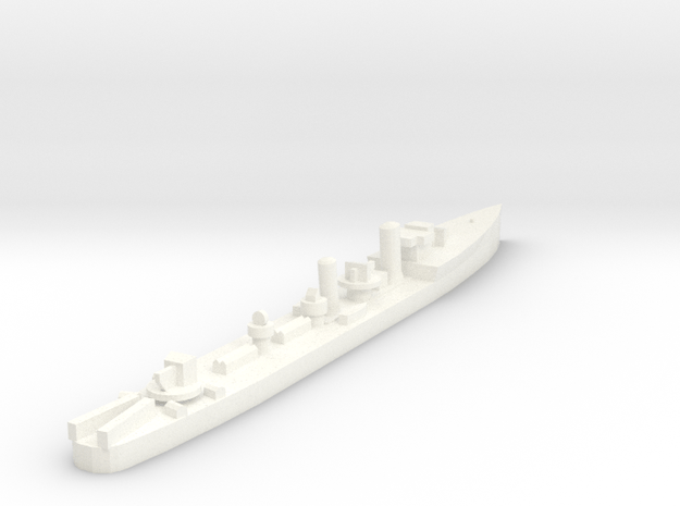 Admiralty S Destroyer (Std) 1:1800 in White Processed Versatile Plastic