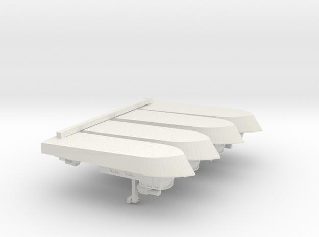 1/600 Vietnam PCF I x 4 off in White Natural Versatile Plastic