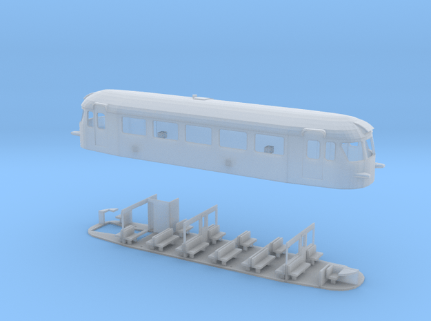 NSB Bm87 TT Scale in Smooth Fine Detail Plastic