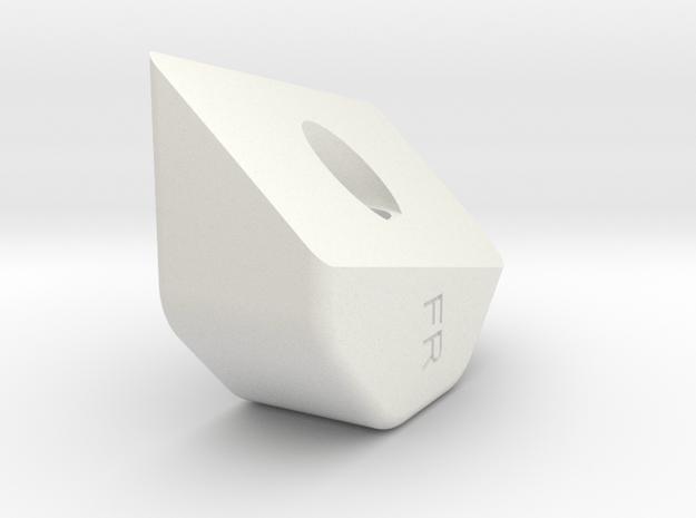 13006-50 in White Natural Versatile Plastic